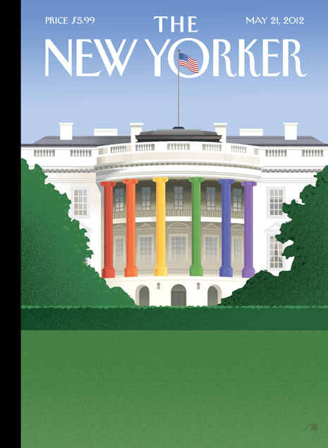 Spectrum of Light by Bob Staake New Yorker