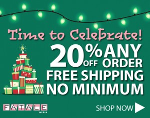 Holiday Sale Save 20% Free Shipping