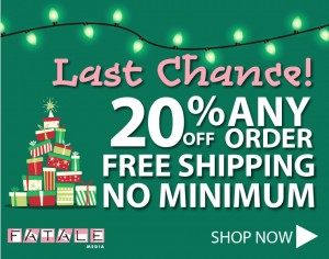 Fatale Media sale - free shipping - save 20%