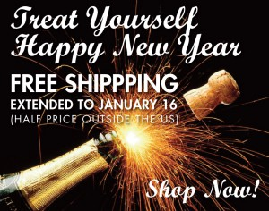 Happy New Year Free Shipping Extended