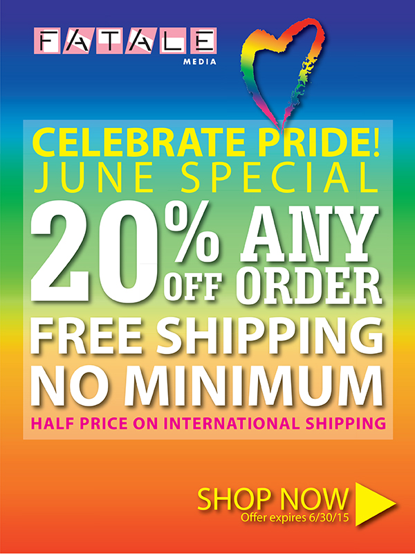 Celebrate Pride Sale 2015