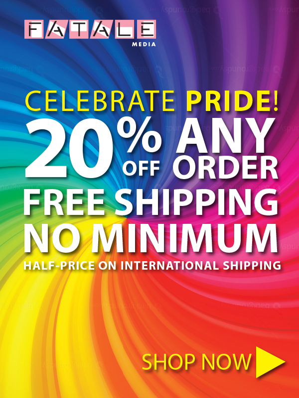 Fatale Pride Sale! Save 20% on all items and get free shipping.