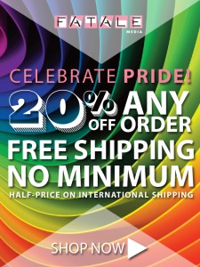 20% Off and Free Shipping during Pride