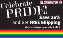 Gay Pride Sale Save 20% and Get Free Shipping
